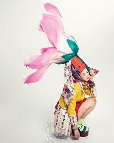 Lee Seungmi for Voguegirl Korea Mar 2011 by Hyea W Kang