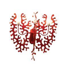 Applique Coral - rouge