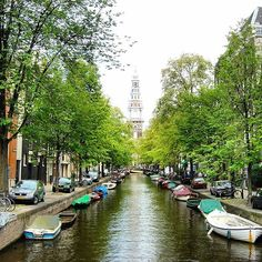 I always lived close to streams. #amsterdam #canal #boat #travel