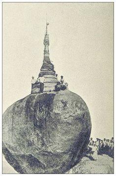 Kyaiktiyo Pagoda  c. 1880.