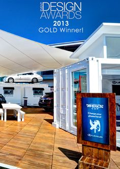 """ASV won the gold Event Design Award for """"Best Outdoor Environment"""" for our Lexus Hybrid Drive Lounge at the 2013 America's Cup! http://www.asv1.com/our-work/ #AmericasCup #Lexus"""