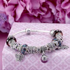 Pandora Butterfly Garden Bracelet