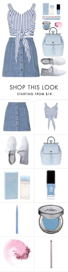 """""""Untitled #388"""" by jovana-p-com ❤ liked on Polyvore featuring Topshop, Aéropostale, Dolce&Gabbana, JINsoon, Stila, Urban Decay and NARS Cosmetics"""