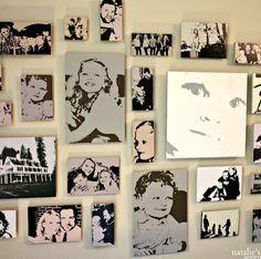 DIY Photo to Pop Art Wall Display under $15!!!