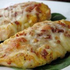 Peito de frango ao molho de mostarda e mel @ allrecipes.com.br
