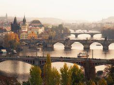 Outono em Praga