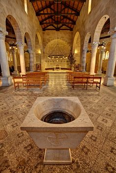Church of the Loaves and Fishes, Sea of Galilee