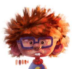Chuckie Finster (Rugrats) - cartoon - character design on Behance