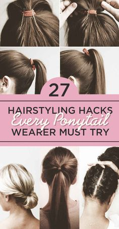 27 Hairstyling Hacks Every Ponytail Wearer Must Try. Get the Serena Van Der Woodsen ponytail you've always dreamt of.
