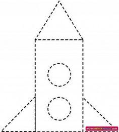 us wp-content uploads 2015 01 rocket-trace-worksheet. Class Activities, Alphabet Activities, Preschool Activities, Space Preschool, Free Preschool, Tracing Worksheets, Preschool Worksheets, Rocket Craft, Tracing Sheets