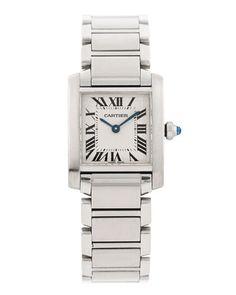 "women's tank watches | Cartier Women's ""Tank Francaise"" Watch | Future Acquisitions"
