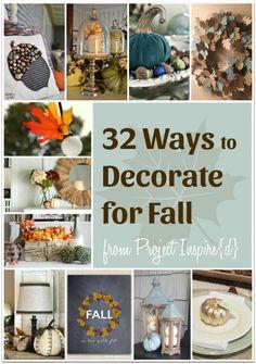 32 Fall Decorating I