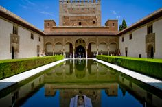 Alhambra de Granada, Palacio Nazaries. Vale es una foto clásica de la Alhambra, pero el lugar lo merece (y esta es mía)