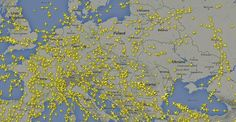 In the wake of the Malaysia Airlines disaster, planes are avoiding Ukrainian airspace entirely. Malaysia Airlines Flight 17, Art Web, Boeing 777, Geography, Places To Go, Vintage World Maps, Usa Today, News, Minnesota