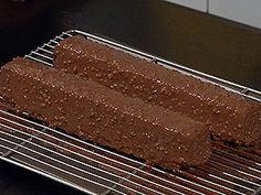 Glaçage au chocolat façon rocher