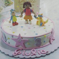 Dora Explorer cake