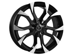 "Wolfrace Assassin Black-Polished 8.5x20"" 5x120 VW T5"