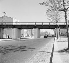 Viaduto de Entrecampos, 1950