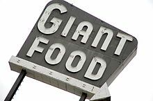 the old Giant Food sign - Laurel, Maryland - Wikipedia, the free encyclopedia