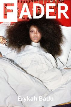 """Erykah Badu / The FADER Issue 103 Cover 20"""" x 30"""" Poster"""