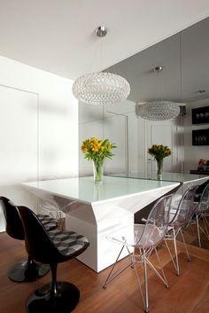 Beatriz Quinelato; apartamento; sala de jantar (Foto: Divulgação)