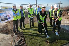 Partners have officially signalled the start of work on an innovative new building that will support up to 64 new and small businesses in Darlington with state of the art business accommodation. Based on the Central Park Enterprise Zone site the Business Growth Hub will provide Grade A office space and one-stop support services for SMEs, supporting the creation of at least 25 new businesses and 350 new jobs. ERDF has invested £3.3m and the Homes and Communities Agency (HCA) £3m.