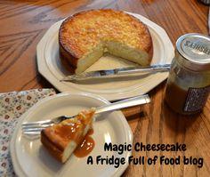 Magic Cheesecake (forms its own crust) A Fridge Full of Food blog