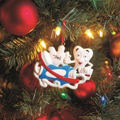 personalized dental ornament great office gift for your staff item