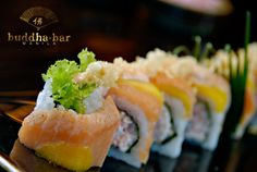 Buddha-Bar Manila's Mango Dragon Roll might give you the sophisticated joy that you've been looking for in food! Have a unique Sushi Experience with us! #buddhabar #buddhabarmnl #buddhabarmanila #finedining #pacificrimcuisine