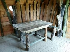 Table & Benches @ Sycamore Adventure