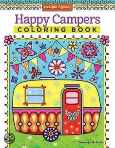 Bol.com ● Happy Campers Coloring Book