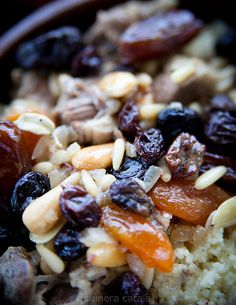 Couscous with lamb and dried fruit