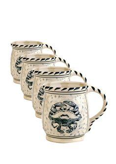 The Frederick Basket Company stocks a wide range of BLUE CRAB BAY ceramics