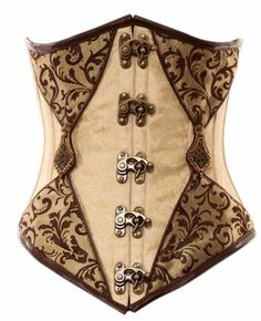 This one is really cool. Nice latches and a unique pattern. Plus I do not yet have an under-bust corset...