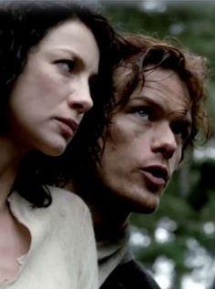 """Sassenach""  // jamie and claire, outlander"
