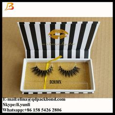 own brand 3d mink eyelashes with private label and custom package, false eyelashes premium 3D mink strip eyelash  Whatsapp:+86 158 5426 2806 Skype:li.yunli82