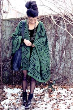 Tribal blanket cape <---- that just sounds adventurous