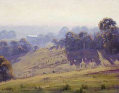 Hazy Summer Morning, Cottles Bridge - Vic by Graham Gercken