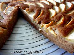 Just Vegetal   –  Tarta Fácil de Sarraceno, Almendras y Manzanas. Para veganos y celíacos.