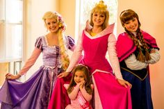 Pink Princess Birthday Party - Bella Paris Designs