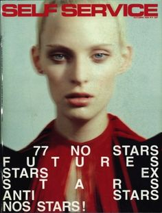 "designbyboth: ""Self Service N4 by Mark Borthwick, Styling: Jane How, Model: Amy Wesson """