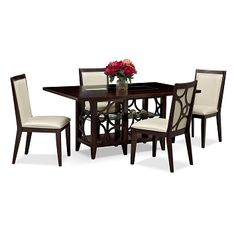 American Signature Furniture  Tango Madera Dining Room 5 Pc Mesmerizing City Furniture Dining Room Decorating Design