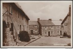 The Square, Constantine, Cornwall, c.1920 - RP Postcard