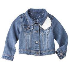 Genuine Kids from OshKosh ™ Infant Toddler Girls' Jeans Jacket - Apollo Blue