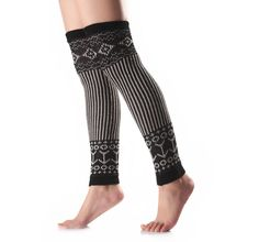Nanxson(TM) Women's Knitted Acrylic Bohemia Style Long Leg Warmer TTW0039 (black). Dimension: 55cmx10cm; Weight: 103 grams;. Comfortable and durable ; Lightweight casual dress and outdoor lifestyle;. Very outstanding multi colors, simple and fashion with high grade;. Very warm material, suit for autumn and winter; Best gift for your friends and yourself!. Package Content: 1 Pair * leg warmers; Any question, please feel free to contact us! Welcome to nasisa store!.