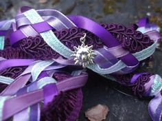 Custom request Handfasting cord by Pixadoodles