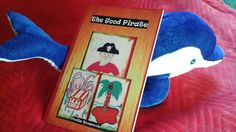Who wouldn't want to be a #pirate for a day?  #pirates #parrot #dolphin #desertisland #teaching #reading  http://www.lulu.com/shop/anita-kovacevic/the-good-pirate/paperback/product-22928350.html