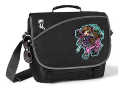 Excited to share the latest addition to my #etsy shop: D.VA Overwatch Original Art Deluxe Laptop Messenger Bag Tons of Pockets Fits up to 15.4 inch Laptop Tablet iPad Gamer Anime Gamer #bagsandpurses #messenger #black #laptop #gamer
