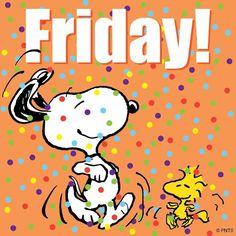 Friday!!! Snoopy & Woodstock