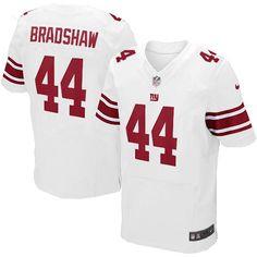 NFL Mens Elite Nike New York Giants #44 Ahmad Bradshaw White Jersey$129.99